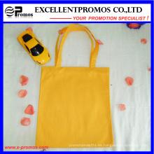 El logotipo modificado para requisitos particulares imprimió las bolsas de asas de compras del algodón (EP-B9098)