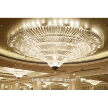 Cone Vortex Luxus Lobby Kronleuchter Beleuchtung