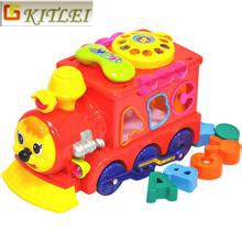 New Design DIY Plastic Puzzle 4D Toy High Quality Intelligent DIY Car Toy