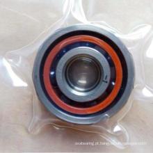 Rolamentos de esferas angulares híbridos de alta velocidade do contato com as bolas cerâmicas Si3n4 136018