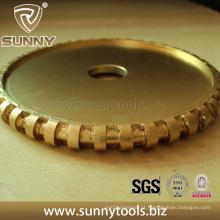 Roda de perfuração de diamante com núcleo de nylon silencioso