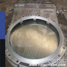Duktiles Eisen-Ggg40 / Gg50 / Gg25 Schlamm-Platten-Absperrventil mit Gummidichtung Pn16