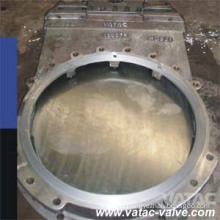 Ss Wafer Ending Through Going Knife Gate Valve