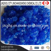 Grado azul de la alimentación del sulfato del cobre a granel del 98%