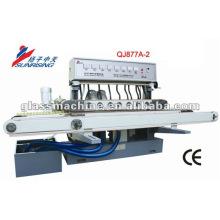 меньший размер QJ877A-2 горизонтальной прямой линии стекло шлифовальный станок