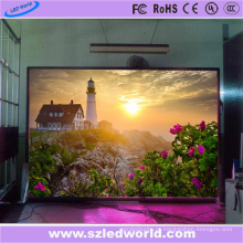 Exposição interna da placa de propaganda do diodo emissor de luz do arrendamento da cor P4.81 completa
