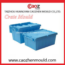 Plástico, dobrar, caixa, molde, cobertura