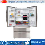 Side by Side Nofrost Refrigerator with Icemaker, Water Dispenser and Mini Bar