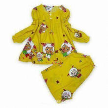 Children's Sleepwear, Made of 100% Cotton, Comfortable and Warm to Wear, Good for Children's Skin