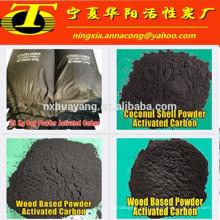 Base adsorbente del carbón de carbón activado del polvo a granel para el tratamiento de aguas