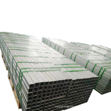AISI 1020 Schedule 10 40 Hollow Square And Rectangular Galvanized Low Carbon Steel Pipe/Tube