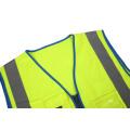 Hi Viz Reflective  Blue Yellow Safety Vest