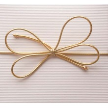 Esticar Loop Elastic Bow para Gift Box Packaging