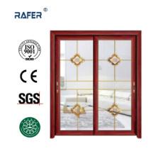 Porte coulissante en aluminium bon marché (RA-G133)