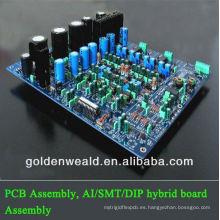 ensamblado montado pcba del temporizador del pcb / montaje de la placa de circuito impreso