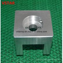 Piezas de aluminio que trabajan a máquina del CNC de la precisión que trabajan a máquina accesorios