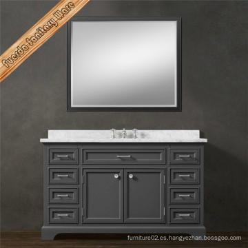 Fed-1688A mueble de baño de madera maciza tocador de baño