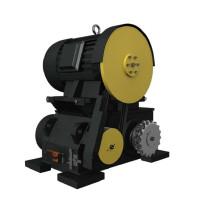 Эскалатор запасных частей 7.5 / 9.5kw эскалаторный двигатель