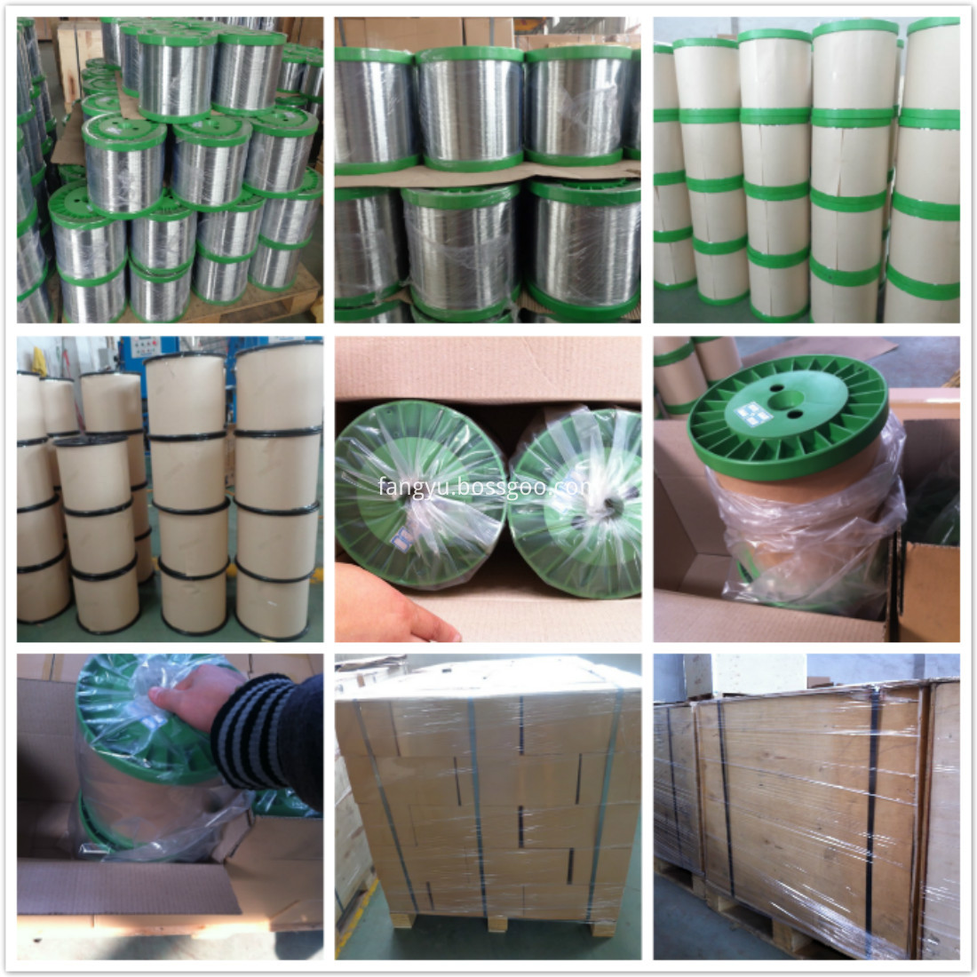 packing of stainless steel wire