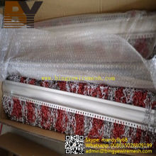 Cortina decorativa clasificada de la pantalla de la mosca de la cadena de aluminio