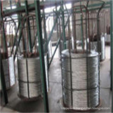 Stainless Steel Zinc-5%Aluminum-Mischmetal Alloy-Coated Steel Wire