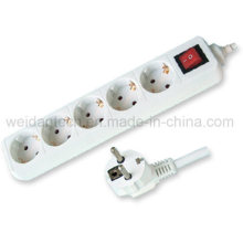 3/4/5/6 Outlet Germany Power Strip