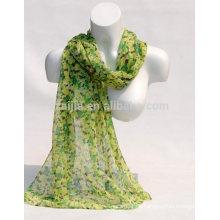 Bufanda floral del algodón de las mujeres 100 de la manera