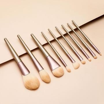 10 Make-up Pinsel Beauty Tools Set Champagner Gold Beauty Tools Make-up Pinsel Set
