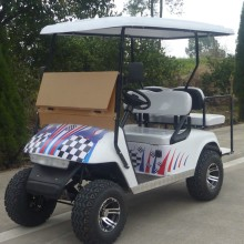 2 seaters gas powered golf cart, golf cart murah dengan CE
