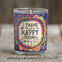 2016 New Design Scented Soy Candle in Candy Jar