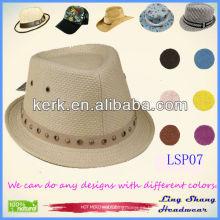 LSP07 Ningbo precio de fábrica de moda con la decoración de paja de papel rayado