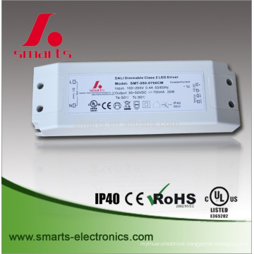 DALI dimming DC 20-40v 1050ma 42w constant current led driver for led bulb