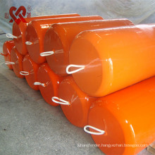 Made in China factory direct sale marine protection ship/dock floating buoy,polyurethane foam filled fender