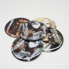 Изготовленный На Заказ Выдвиженческий Подгонянный Шарж Логотип Металлический Штырь Значок Кнопки