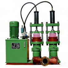 High pressure hydraulic plunger pump for filter press