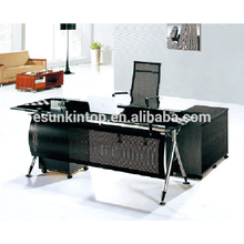 Glass top desk executive , Office furniture for high quality to go! (P8053)