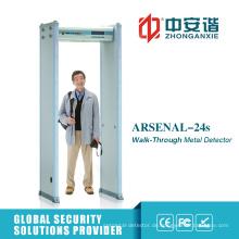 LCD-Bildschirm Finanzinstitut Wache Archway Metalldetektor