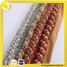 Trenzado de algodón Cuerda para el cojín Decoración Sofá Decoración Salón Cama Habitación