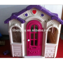 Indoor Kinder Plastik Spielhäuser LE.WS.001