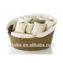 Round rattan daybed venda