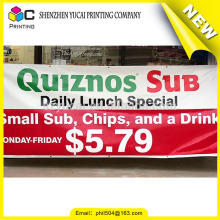 Trustworthy china supplier custom double side vinyl banner and pvc vinyl banner sign