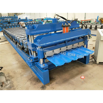 High+Accuracy+Step+Roof+Panel+Roll+Forming+Machine