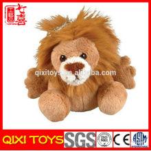 Chave de carro de pelúcia leão chaveiro bonito chaveiro brinquedo de pelúcia