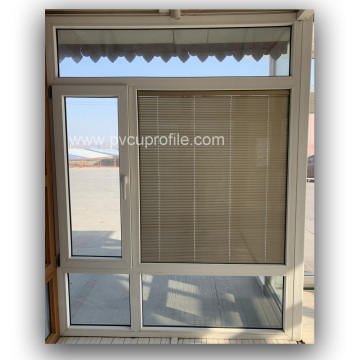Gris pas cher portes UPVC double vitrage Windows