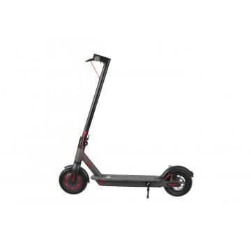 Portable electric scooter with foldable design
