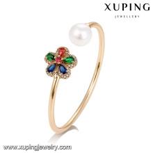 51738 xuping Joyería al por mayor de las mujeres, brazalete colorido de la perla de la manera
