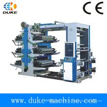 Hot vendendo seis cores Flexo máquina de impressão (YT-6-800)