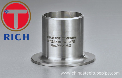 Stainless Steel Pipe / Tube Fitting Tube End
