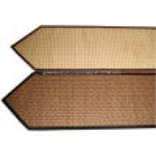 Bambu, tabela, corredor, tabela, tapete