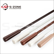 Wooden Color Curtain Hand Pull Rods Curtain Wand Of Curtain Accessory